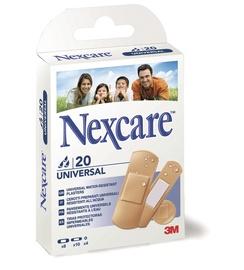 Universālie plāksteri 3M Nexcare, 20 gab.