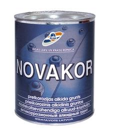 Metallikruntvärv Novakor 2,7L helehall