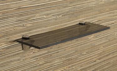 Klaasriiul Andres, hall, 600x120x8mm