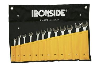 Leht-silmusvõtmete komplekt Ironside 8-19mm 12-osaline
