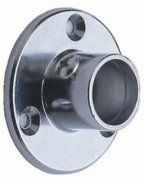 Caurules gala stiprinājumi Super Deluxe 19mm, hromēti, 2 gab.