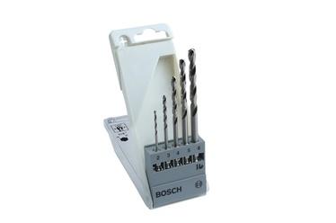 Urbju komplekts metālam Bosch HSS-G 2-6mm, 5 gab.