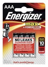 Baterijas Energizer Max AAA, 1,5V, 4gab.