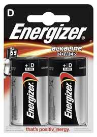 Baterijas Energizer Base D 1,5V, 2 gab.