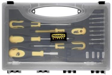 Kruvikeerajate ja otsikute komplekt Modeco 18-osaline