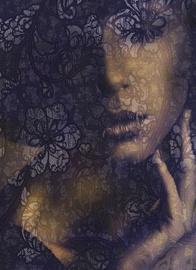 Fototapeet Komar XXL2-012 Lace, 184 x 248 cm