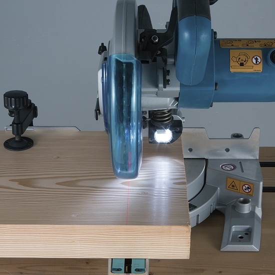 Nurgasaag Makita LS0815FL, 216 x 30 mm, 1400 W, lamp, laser