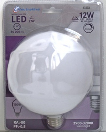 LED lamp Electraline Globe Dimmable 12W 1000lm E27