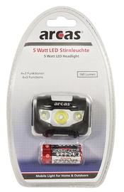 Otsmikulamp Arcas, 5W, LED, 160 Lm, +3 AAA
