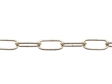 Dekoratiivkett Pösamo 1609, 3,0mm, nikkel