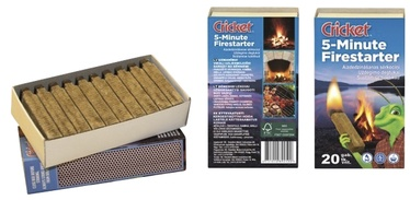 Tuletikud Cricket Firestarter 5-minute