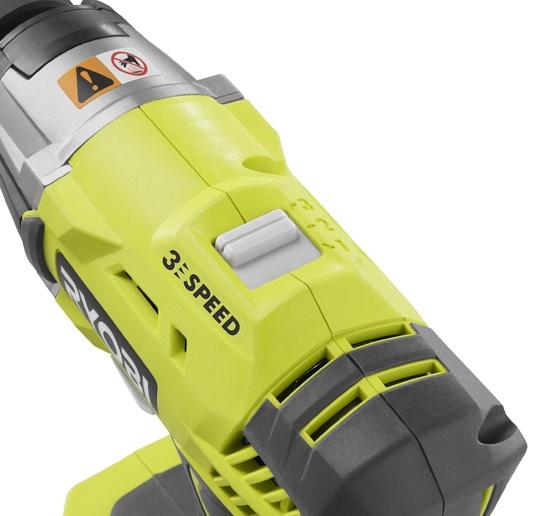 Akumulatora triecienskrūvgriezis Ryobi One+ R18IW3-0, 18V