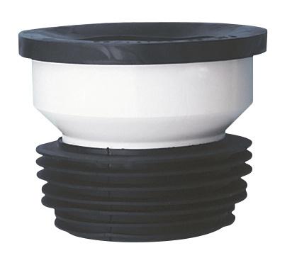 WC muhv, sirge Ø100/110 mm, plastik