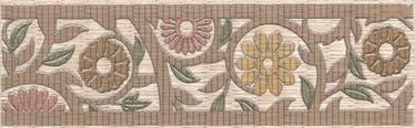 Keraamiline bordüür Kerama-Marazzi Jali 25x7,7cm