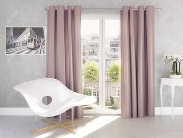 Kardin Silk 140x245cm, roosa