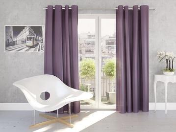 Kardin Silk 140x245cm, lilla