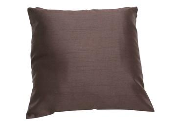 Padi dekoratiivne Silk 40x40cm, šokolaad