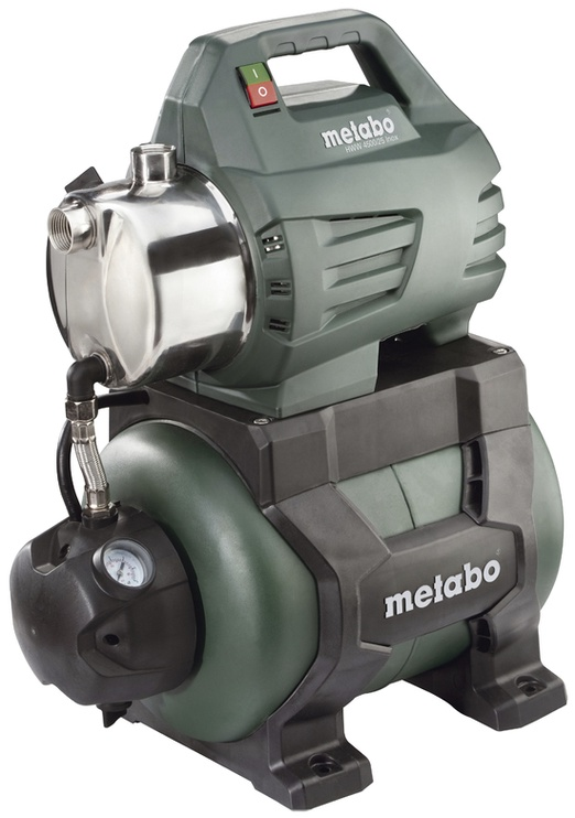 Hüdrofooriga veeautomaat Metabo HWW 4500/25 INOX