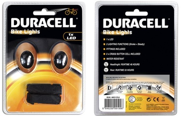 Jalgratta esi- ja tagatuli, 2 LED