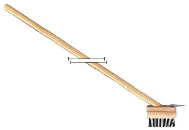 Tänavahari, metallist, 140cm