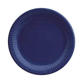 Papīra šķīvji PS 23 cm, zili, 20 gab.