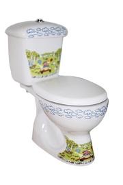 WC pott lastele Jimmy, allajooks, prill-lauaga