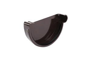 Vihmaveerenni ots Galeco parem PVC pruun 110mm