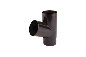 Vihmaveetoru haru Galeco PVC pruun 67° 80mm