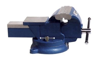 Skrūvspīles ar grozāmu pamatni 360° 200mm