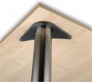 Lauajalg nikkel harjatud 710mm Ø60