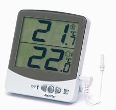 Digitālais termometrs ar brīdinājuma signālu