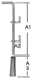 Väravariiv 88005Z, 400 mm