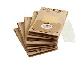Papīra putekļu maisiņi Kärcher modeļiem A27XX, A28XX, 5 gab.