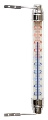 Termomeeter välistingimustesse 20cm, roostevaba teras