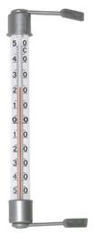 Cilindrisks āra termometrs 20cm, pelēks