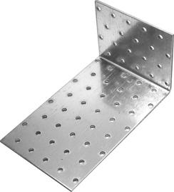 Naelutusnurk Prof tsink 120x80x40x2,5mm