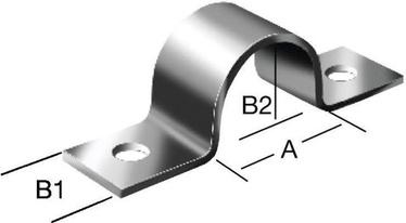 Cauruļu skava Vorman 13x15mm