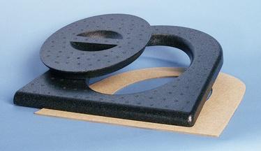 Kuivkäimla prill-laud, must