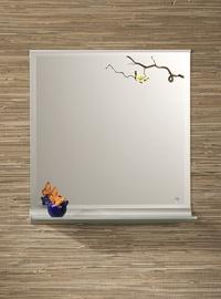 Spogulis ar plauktu Andres Aurelius-2 600x600mm