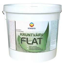Kruntvärv Eskaro Flat, valge 4,5L