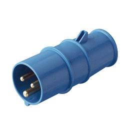 Vienfāzu kontaktdakša 250V 16A IP44