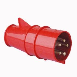 Trīsfāzu kontaktdakša 400V 32A IP44