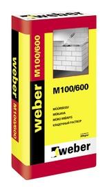 MŪRJAVA WEBER M100/600 25KG
