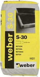 Ātri cietējošs betons Weber S-30, 25kg