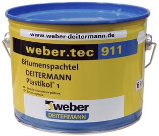 Bitumena remontmastika Weber.tec 911, 6kg