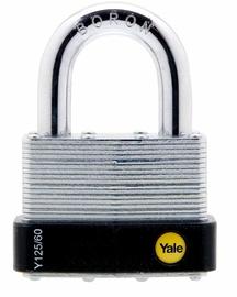 Tabalukk aasaga Yale, 60mm, teras korpusega