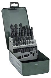Metallipuuride komplekt Bosch HSS-R, 25-osaline