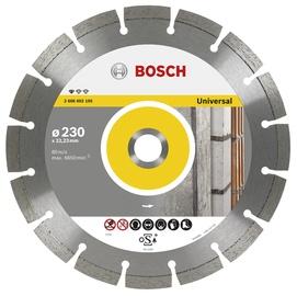 Teemantlõikeketas Bosch Universal 115x22,23mm