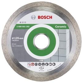 Teemantlõikeketas Bosch Ceramic 125x22,23mm