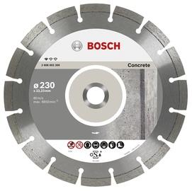 Dimanta griezējdisks betonam Bosch BPE 230x22,2mm